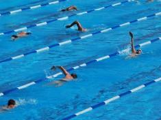 Das Bild Swimming Lanes wurde auf Flickr unter der Creative Commons License von augamont veröffentlicht