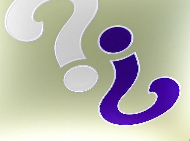 Das Bild Questions? wurde bei flickr unter derCreative Commons Licensevon Valerie Everett veröffentlicht